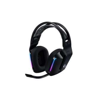 G733-BK ゲーミングヘッドセット G733 ブラック [USB /両耳 /ヘッドバンドタイプ]