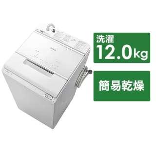 BW-X120F-W インバーター洗濯機9k以上 ホワイト [洗濯12.0kg /上開き]