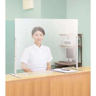 デスクスクリーンH60A  (カウンタータイプ)4枚セット(約幅90×奥行23×高さ60.5~80.5cm)