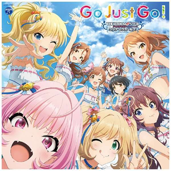(ゲーム・ミュージック)/ THE IDOLM@STER CINDERELLA GIRLS STARLIGHT MASTER GOLD RUSH! 01 Go Just Go! 【CD】