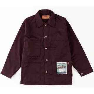 メンズ ジャケット COVERALL(Mサイズ/バーガンディー)U7434225