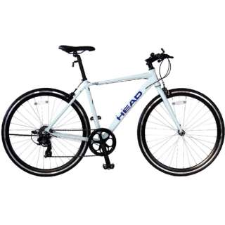 700×28C クロスバイク HEAD×CHACLE PHYTHON(ホワイト/7段変速・490mm) CRT-CCHEPT-490-BC 【組立商品につき返品不可】