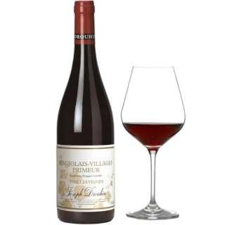 [特製グラス付き] メゾン・ジョゼフ・ドルーアン ボージョレ・ヴィラージュ・ヌーヴォー ヴィエイユ・ヴィーユ 2020 750ml【赤ワイン】
