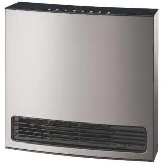 140-6103 ガスファンヒーター メタリックシルバー [木造11畳まで /コンクリート15畳まで /都市ガス12・13A]