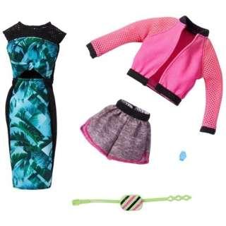 バービー ファッション2パック グリーン・ピンク
