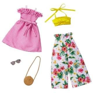 バービー ファッション2パック フラワー・ピンク