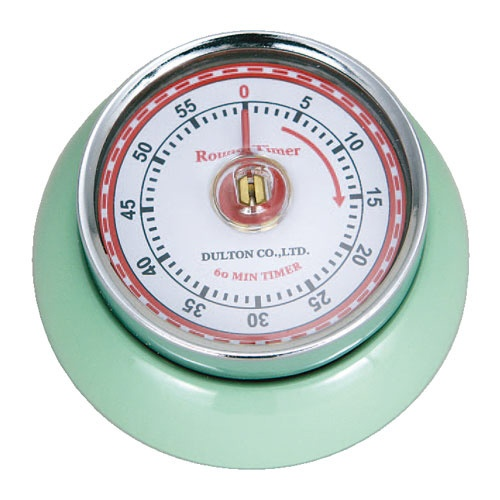 KITCHEN TIMER WITH MAGNET M.GREEN キッチンタイマー ウィズ マグネット 100-189MG