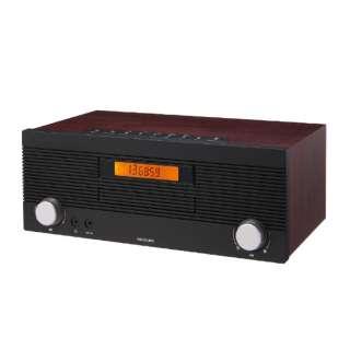 CDラジオ 木目 SDB-4708/M [ワイドFM対応 /Bluetooth対応]
