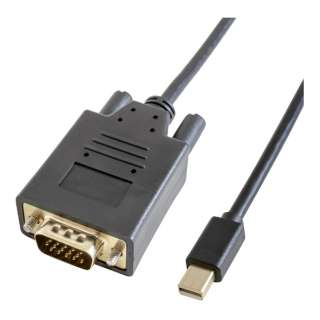 GP-MDPV15K-10 変換ケーブル ブラック [1m /miniDisplayPort⇔VGA]
