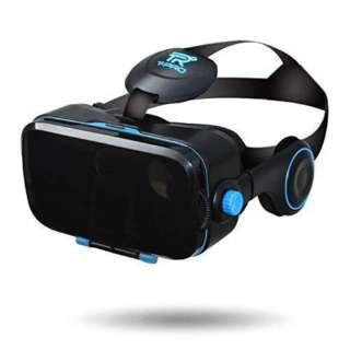 T-PRO 3D VRゴーグル イヤホン一体型 4.7~6.0インチ対応 ブラック