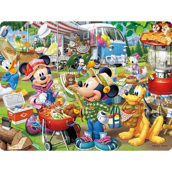 3Dマジックジグソーパズル DL-63-699 ディズニー みんなでオートキャンプ!