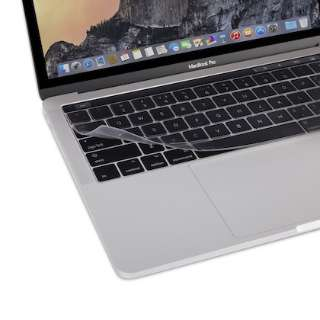 MacBook Pro Touch Bar搭載(US 英語配列)用 キーボードカバー Clearguard MB with TB 2016-19 mo-cld-mbpu