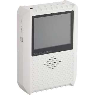 2.8インチ液晶付き ポータブルワンセグテレビ&ラジオ WINTECH TVR-L37 [テレビ/AM/FM /ワイドFM対応]