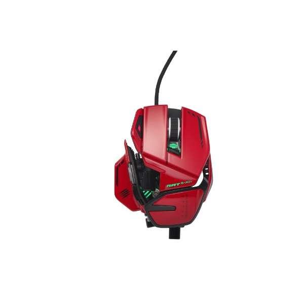 MR06DCINRD000-0J ゲーミングマウス R.A.T.8+ADV [光学式 /11ボタン /USB /有線]