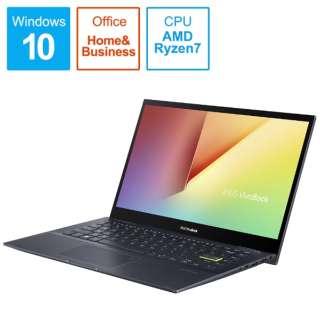 ノートパソコン VivoBook Flip 14 ビスポークブラック TM420IA-EC147TS [14.0型 /AMD Ryzen 7 /SSD:512GB /メモリ:8GB /2020年9月モデル]