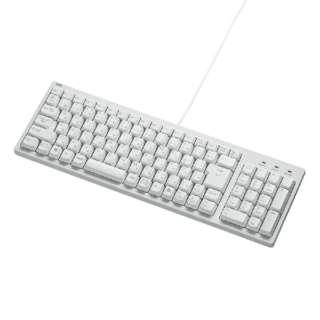 SKB-KG2WN2 キーボード ホワイト [PS/2・USB /有線]