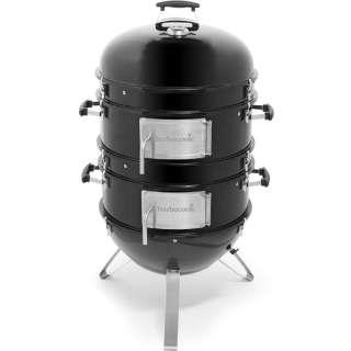 オスカーL 燻製器(H120×63×72cm/ブラック) 2239875000