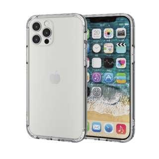 iPhone 12/12 Pro 6.1インチ対応 ハイブリッドバンパーケース クリア