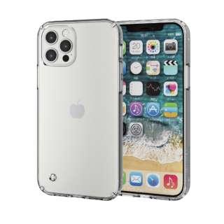 iPhone 12/12 Pro 6.1インチ対応 ハイブリッドケース フォルティモ(R) クリア