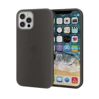 iPhone 12/12 Pro 6.1インチ対応 シリコンケース ブラック