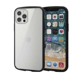 iPhone 12/12 Pro 6.1インチ対応 ハイブリッドケース TOUGH SLIM LITE フレームカラー ブラック