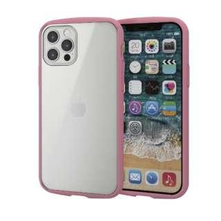 iPhone 12/12 Pro 6.1インチ対応 ハイブリッドケース TOUGH SLIM LITE フレームカラー ピンク