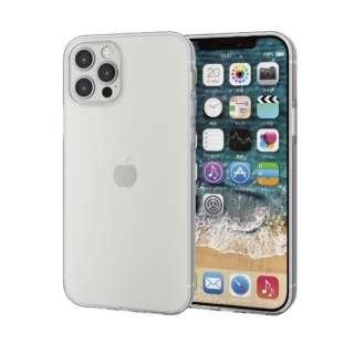 iPhone 12/12 Pro 6.1インチ対応 ソフトケース 極み フォルティモ(R) クリア