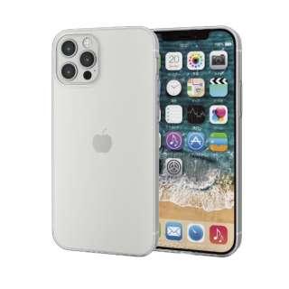 iPhone 12/12 Pro 6.1インチ対応 ソフトケース 薄型 クリア