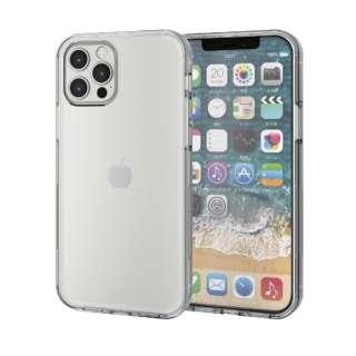 iPhone 12/12 Pro 6.1インチ対応 ハイブリッドケース 360度保護 クリア