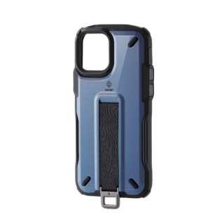 iPhone 12/12 Pro 6.1インチ対応 ハイブリッドケース NESTOUT Trekking スモーキーブルー