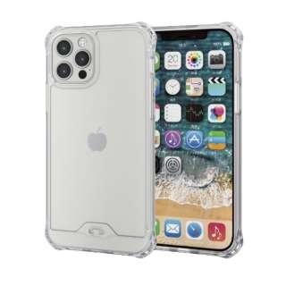 iPhone 12/12 Pro 6.1インチ対応 ハイブリッドケース ZEROSHOCK フォルティモ(R) クリア