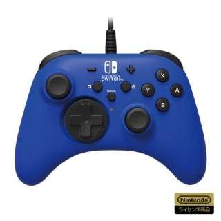 ホリパッド for Nintendo Switch ブルー NSW-155 【Switch】