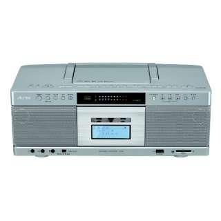 CDラジカセ TY-AK2-S シルバー [Bluetooth対応 /ワイドFM対応 /ハイレゾ対応 /CDラジカセ]