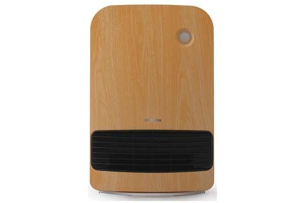 アイリスオーヤマ「人感センサー付き大風量セラミックファンヒーター」KJCH-12TD5-NTM