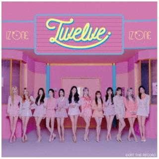 IZ*ONE/ Twelve Type A 【CD】