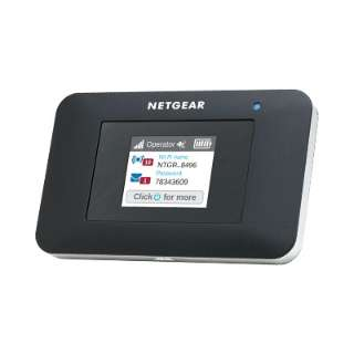 【SIMフリー】AirCard 797 4G LTEモバイルルーター ブラック AC797-100JPS [マイクロSIM]