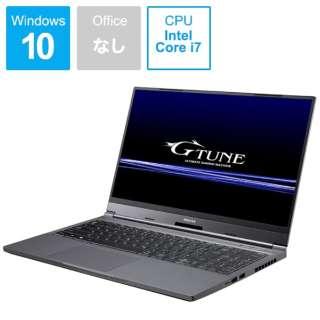 BC-GNIDYM16R26-202X ゲーミングノートパソコン G-Tune [15.6型 /intel Core i7 /SSD:512GB /メモリ:16GB /2020年9月モデル]