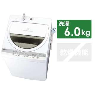 全自動洗濯機 ZABOON(ザブーン) グランホワイト AW-6G9-W [洗濯6.0kg /上開き]