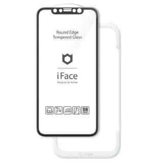 [iPhone 11/XR専用]iFace Round Edge Tempered Glass Screen Protector ラウンドエッジ強化ガラス 画面保護シート iFace ブラック 41-890271