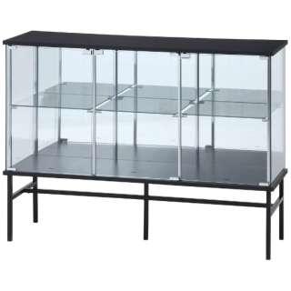 ガラスコレクションボード ブラック(高さ90cm)