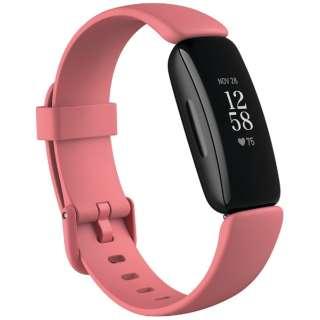 FB418BKCR-FRCJK Fitbit Inspire2 フィットネストラッカー デザートローズ L/Sサイズ デザートローズ [10日以上]