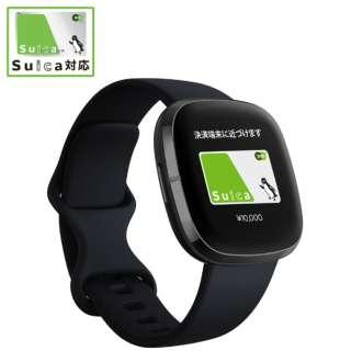 Fitbit Sense GPS搭載 スマートウォッチ カーボン/グラファイト L/S サイズ カーボン FB512BKBK-FRCJK [6日以上]