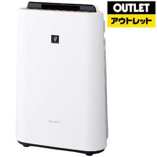 【アウトレット品】 KC-G40-W 加湿空気清浄機 ホワイト系 [適用畳数:18畳 /最大適用畳数(加湿):11畳 /PM2.5対応] 【生産完了品】