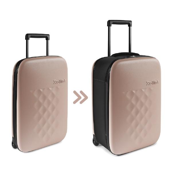スーツケース FLEX ローズスモーク 50826