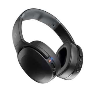 ブルートゥースヘッドホン Crusher Evo(クラッシャーエボ) TRUE BLACK CRUSHEREVO [リモコン対応 /Bluetooth]