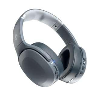 ブルートゥースヘッドホン Crusher Evo(クラッシャーエボ) CHILL GREY CRUSHEREVO [リモコン対応 /Bluetooth]