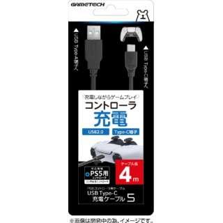USB Type-C充電ケーブル5 4m P5F2272 【PS5】