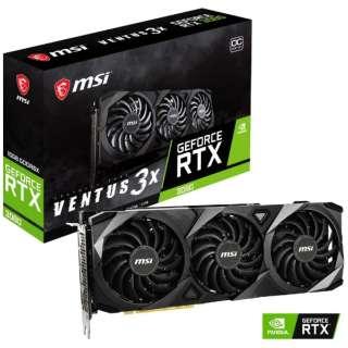 MSI GeForce RTX 3080 VENTUS3X 10G OC GeForceRTX3080VENTUS3X10GOC [GeForce RTXシリーズ]