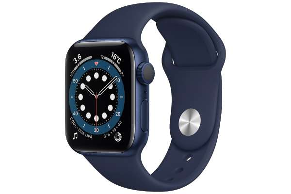 Apple「Apple Watch Series 6(GPSモデル) 40mm」MG143J/A(腕時計・リストバンド)