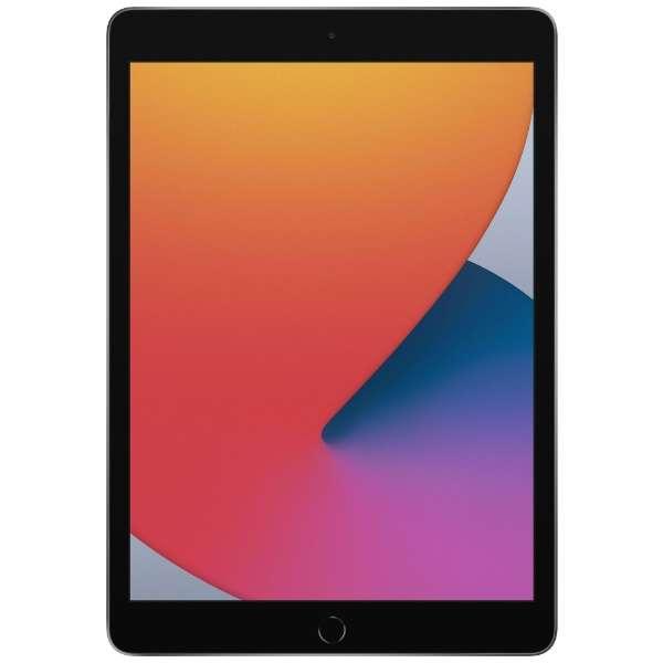 iPad 10.2インチ 32GB Wi-Fiモデル MYL92J/A スペースグレイ(第8世代) [32GB]